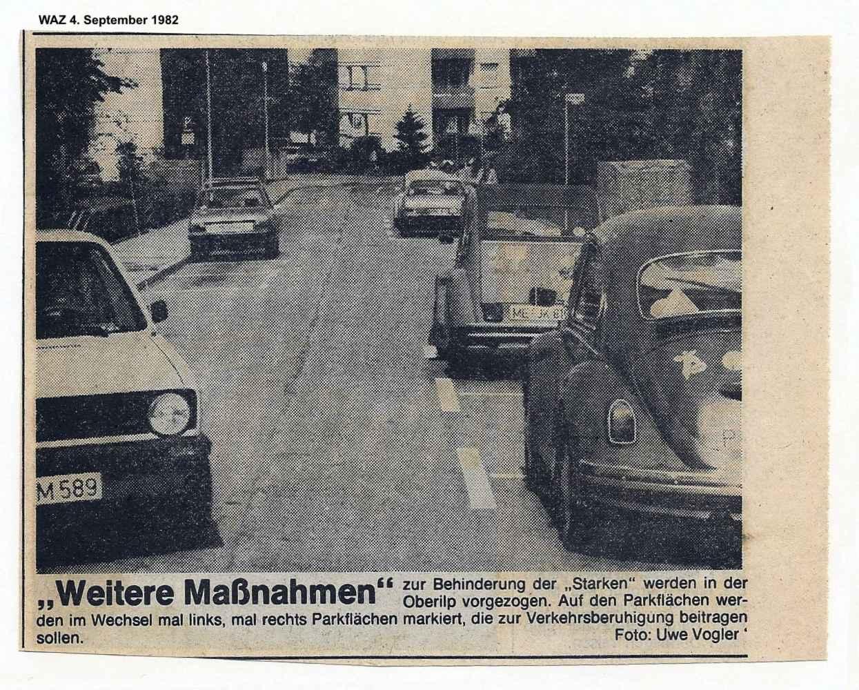 straßenfest in anliegerstraße